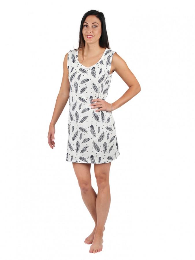 bd9dca9ae Dámske letné šaty 11 bez rukávov perie | EVONA