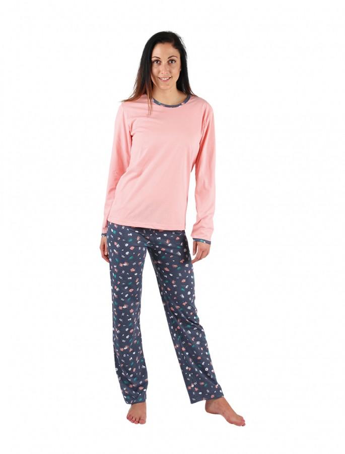 706913811f9 Dámske pyžamo P1406 púpavy č.1 ...