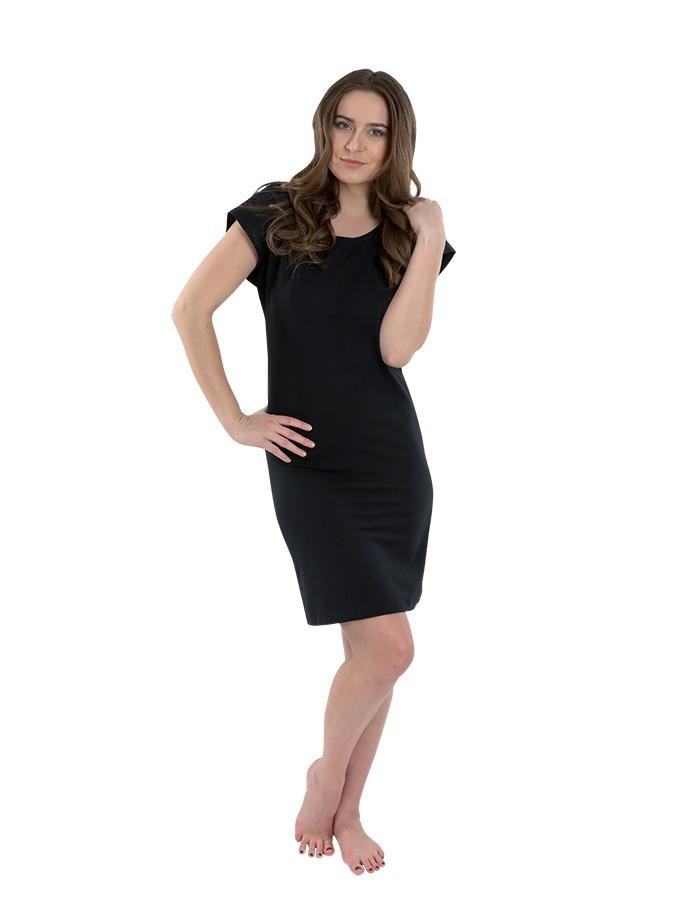 ... Dámske čierne krátke šaty č.2 4f393508027