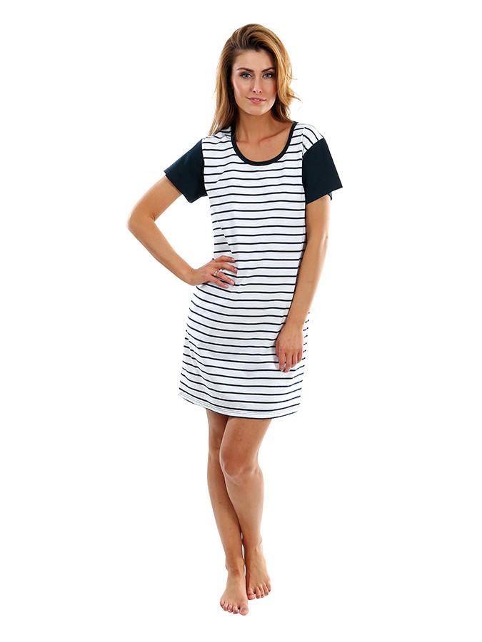 3eef18256da3 Dámske letné šaty s krátkym rukávom 203