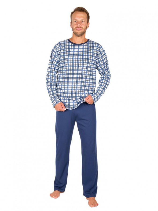 7b8333457 Pánske dlhé pyžamo HENRY | EVONA