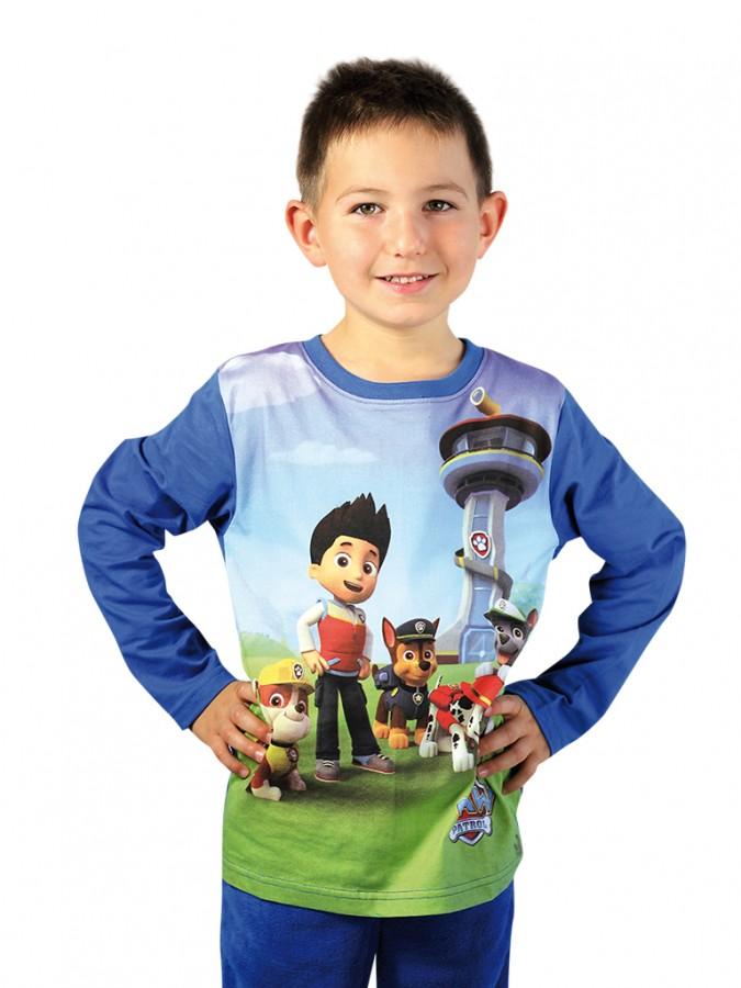 9323e86b4bed Chlapčenské tričko PAW PATROL s dlhým rukávom