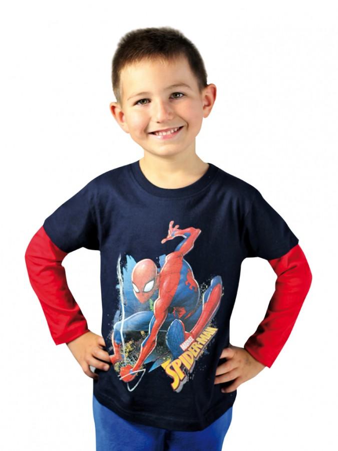 863be3492483 Chlapčenské tričko SPIDERMAN s dlhým rukávom