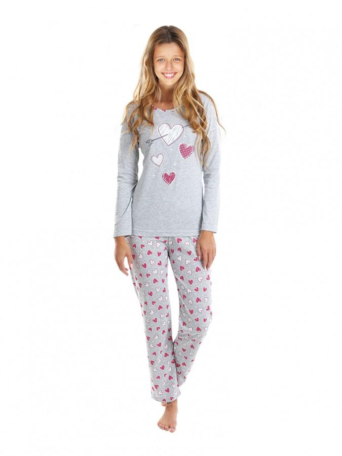 d0321e1bb Dievčenské dlhé pyžamo SWEET | EVONA